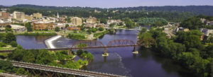 Header - About Easton River with Bridges